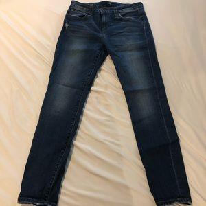 Lighter wash joes jeans